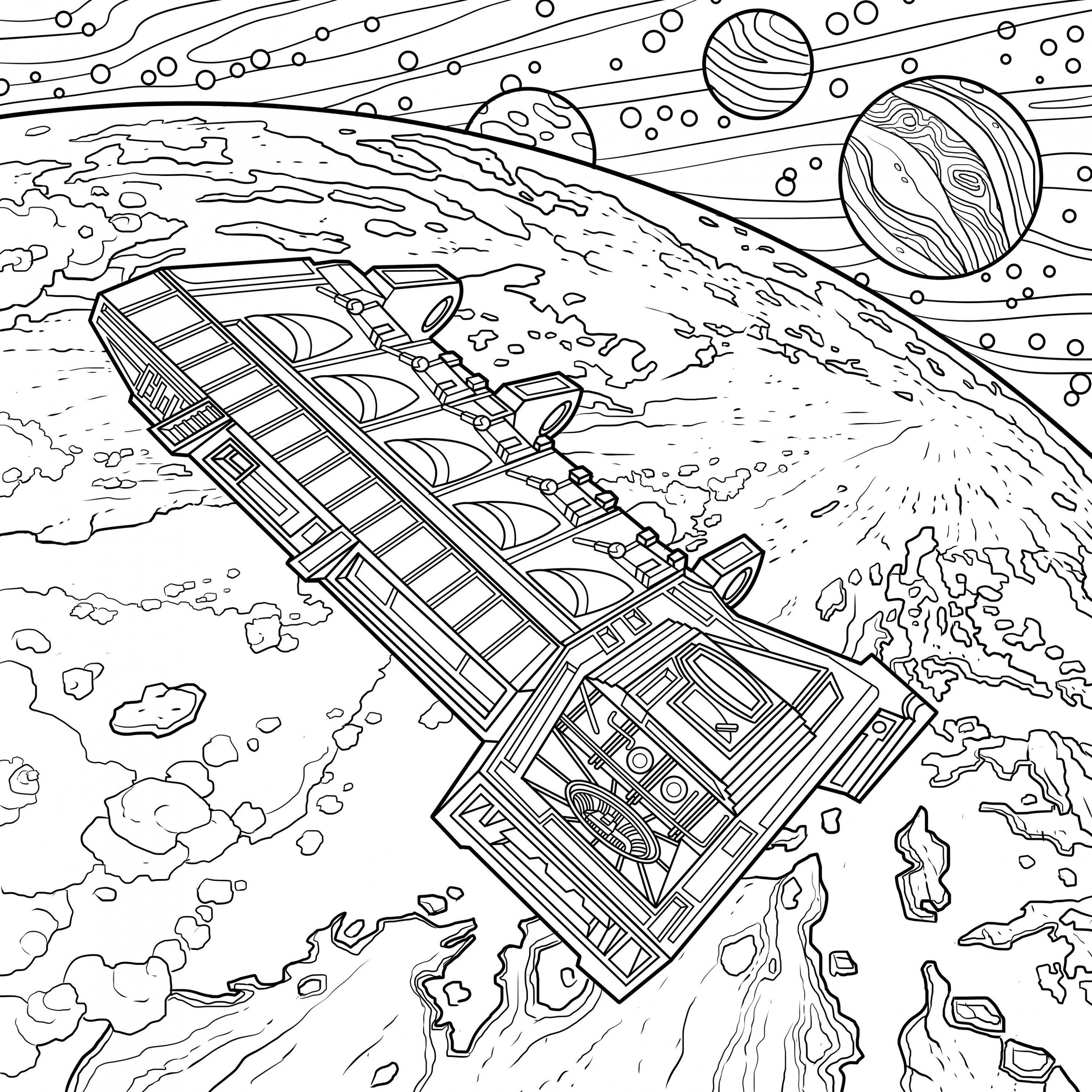 Alien: The Coloring Book features a franchise full of iconic sci-fi ...