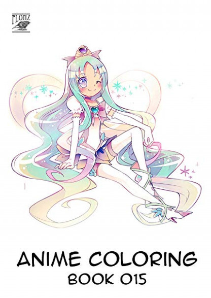 Amazon.com: Anime Coloring Book (14 pages 14″x14″) Pretty Cure Anime ..