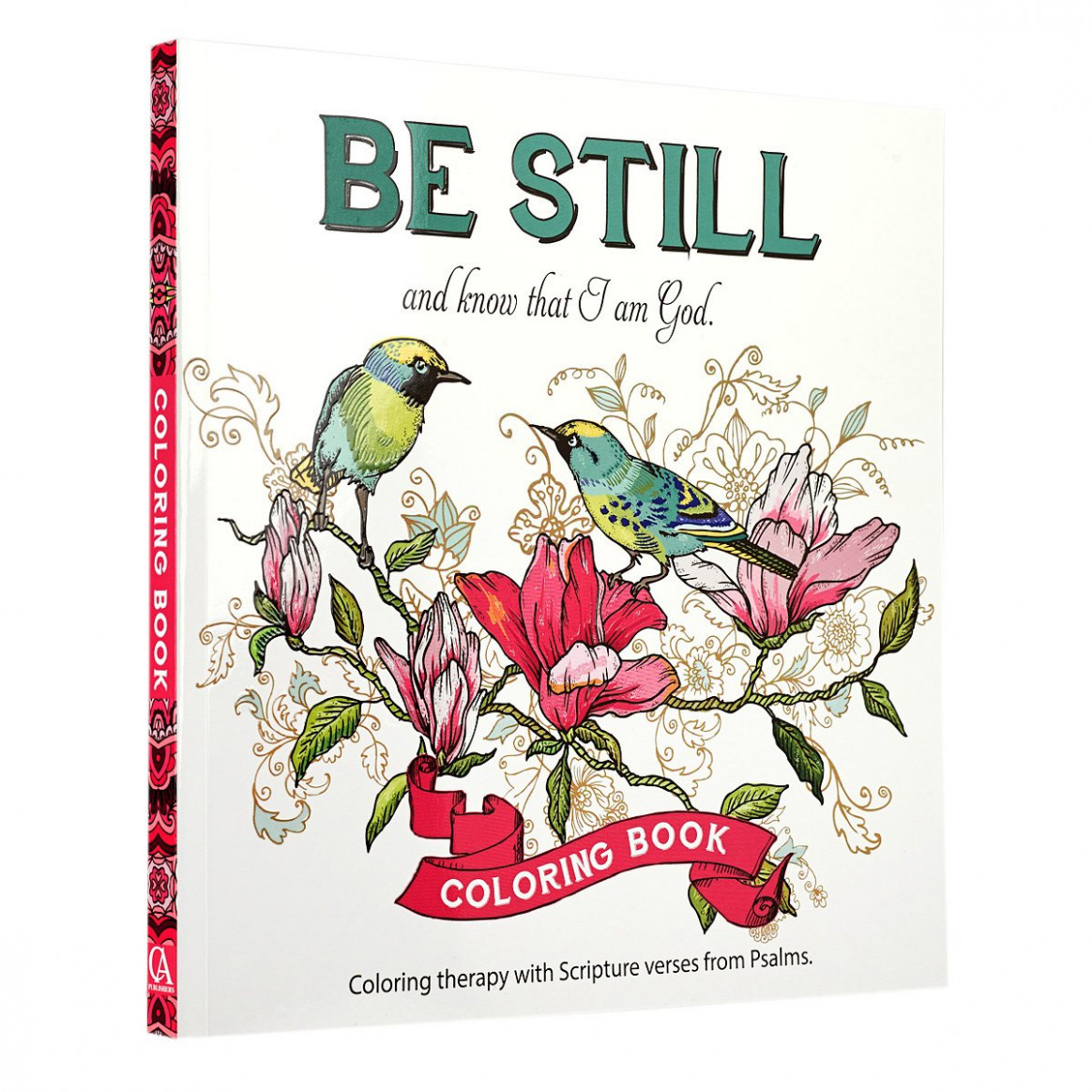 "Amazon.com: ""Be Still"" Inspirational Adult Coloring Therapy .."