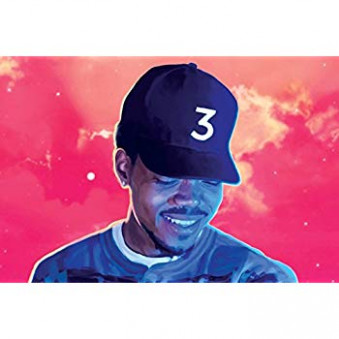 "Amazon.com: Chance The Rapper - Coloring Book - Poster ""18 x 18 ..."