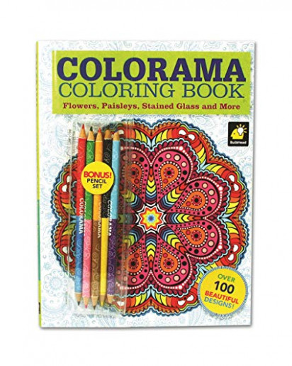 Amazon.com: Colorama Coloring Book for Adults with 16 Colored ..