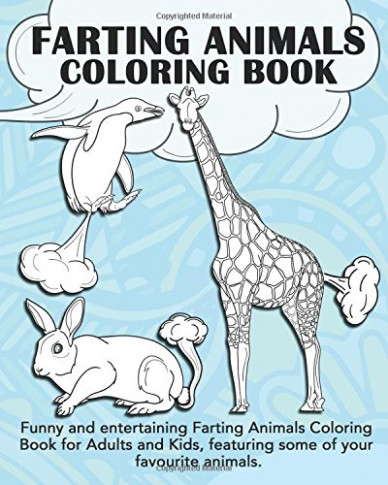 Amazon.com: Farting Animals Coloring Book: Funny and entertaining ...