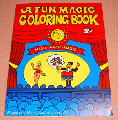 Amazon.com: Fun Magic Coloring Book, Pocket Size, Easy To Perform ..