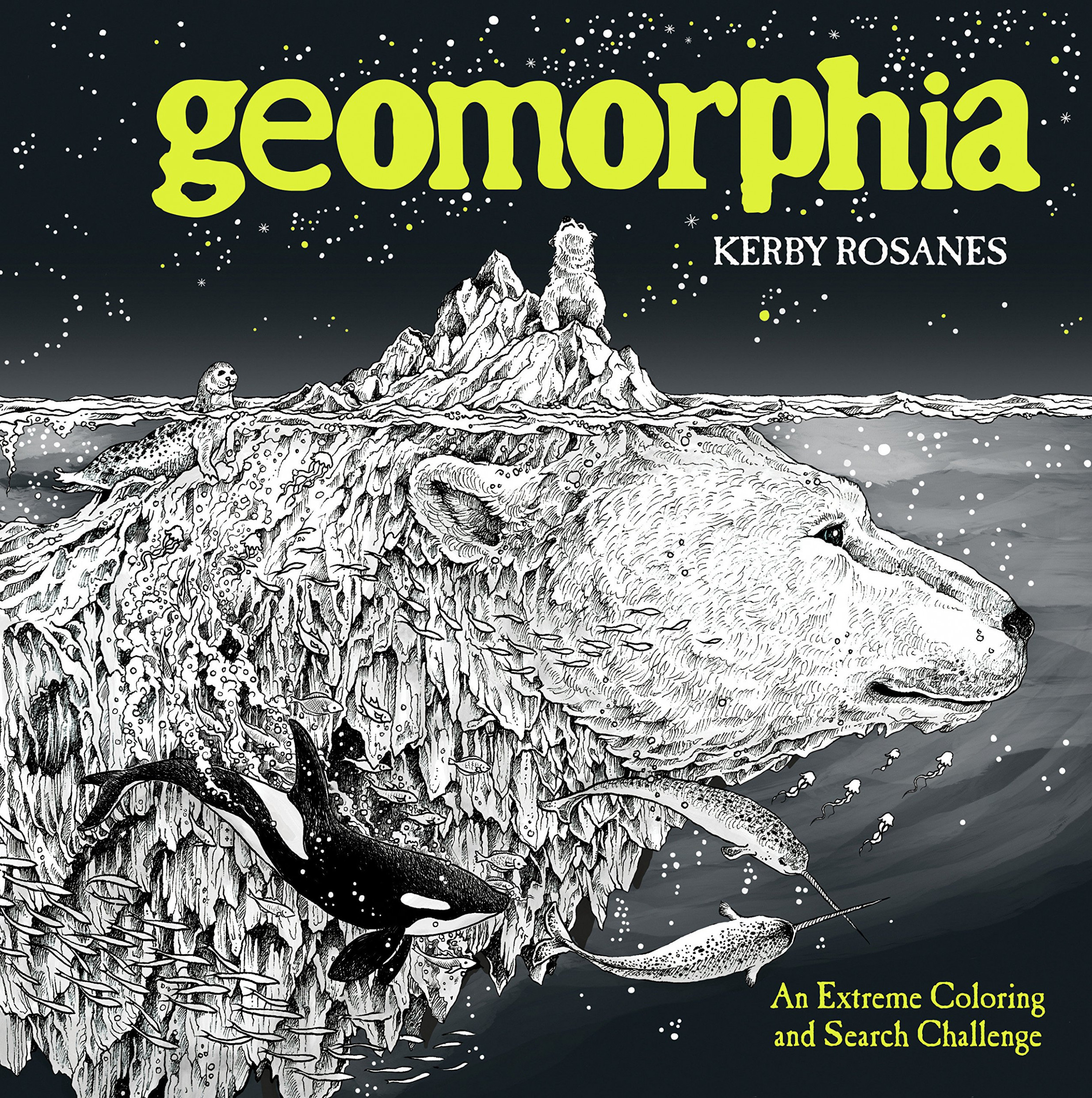 Amazon.com: Geomorphia: An Extreme Coloring and Search Challenge ...
