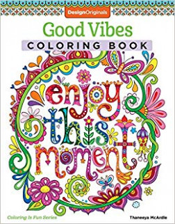 Amazon.com: Good Vibes Coloring Book (Coloring is Fun) (Design ..
