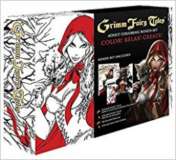 Amazon.com: Grimm Fairy Tales Coloring Book Box Set (16 ...