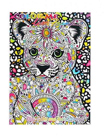 Amazon.com: Lisa Frank Color Me Coloring Book - Hunter: Toys