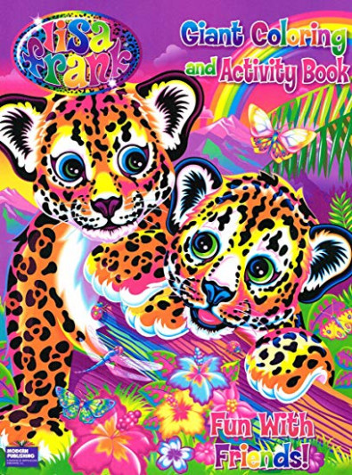 Amazon.com: Lisa Frank Coloring Books 13 Asstd.13 pgs