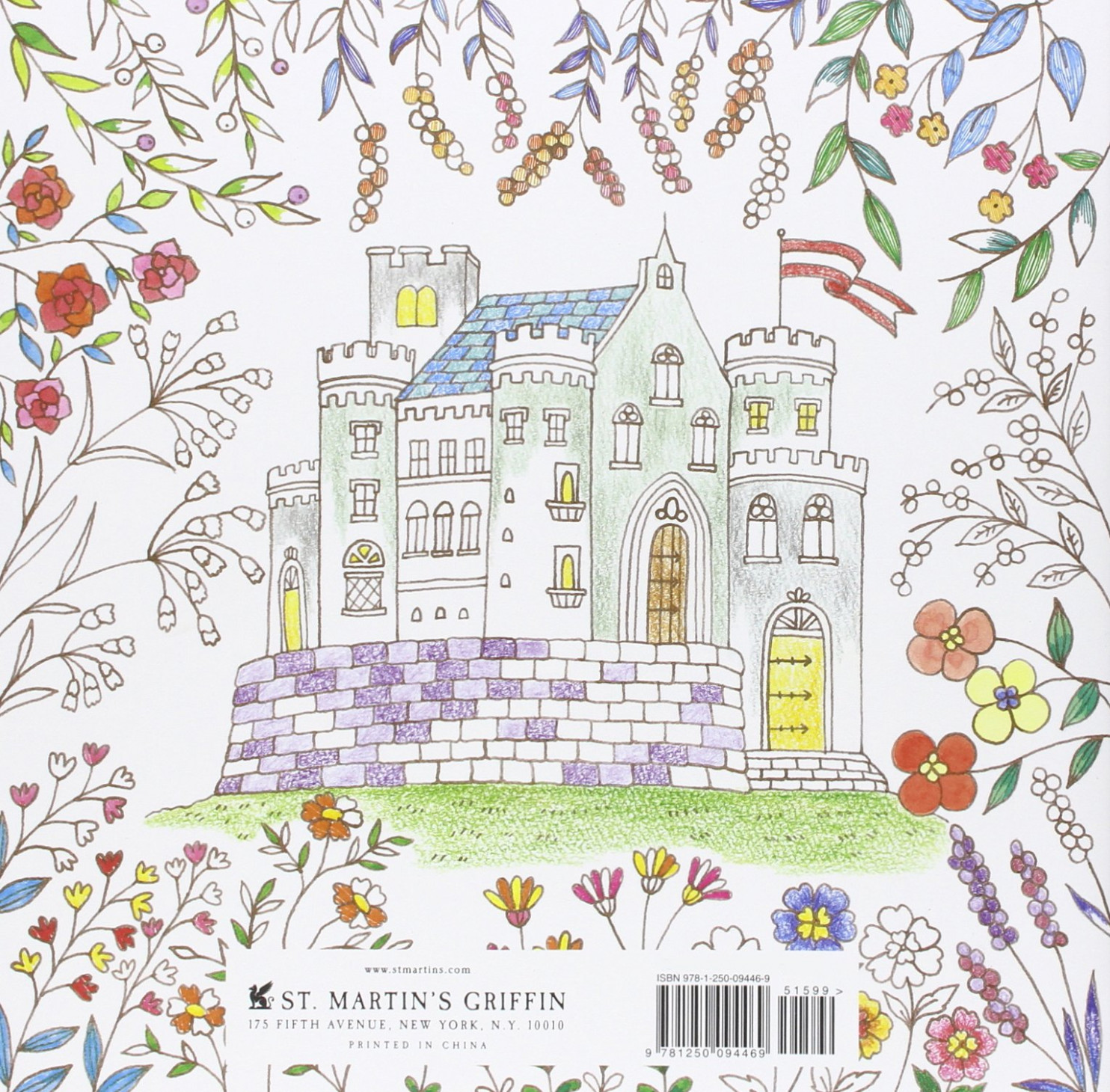 Amazon.com: Romantic Country: A Fantasy Coloring Book (14 ..
