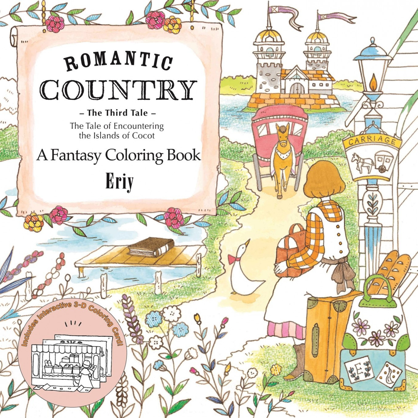 Amazon.com: Romantic Country: The Third Tale: A Fantasy Coloring ...