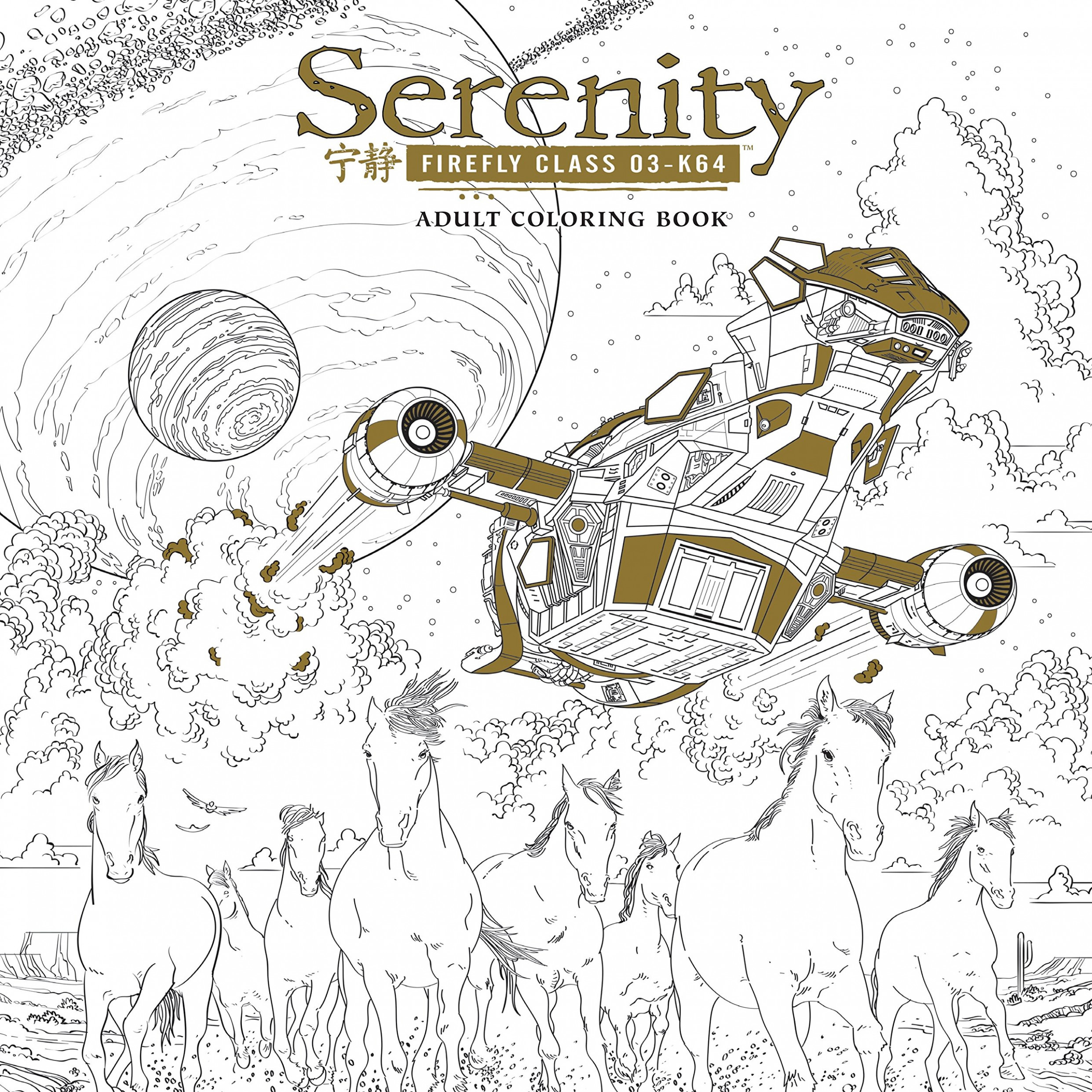 Amazon.com: Serenity Adult Coloring Book (12): Fox: Books