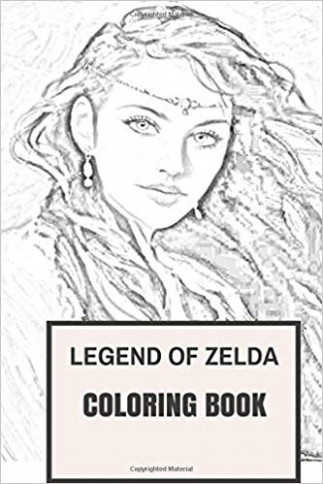 Amazon.com: Tale of Zelda Coloring Book: Legend of Traditional ..