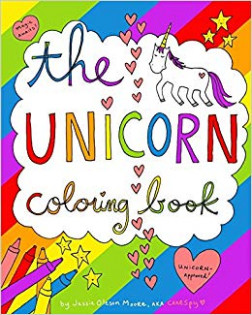 Amazon.com: The Unicorn Coloring Book (18): Jessie Oleson ..