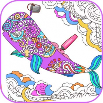 Amazon.com: Virtual Mandala Coloring Book: Appstore for Android