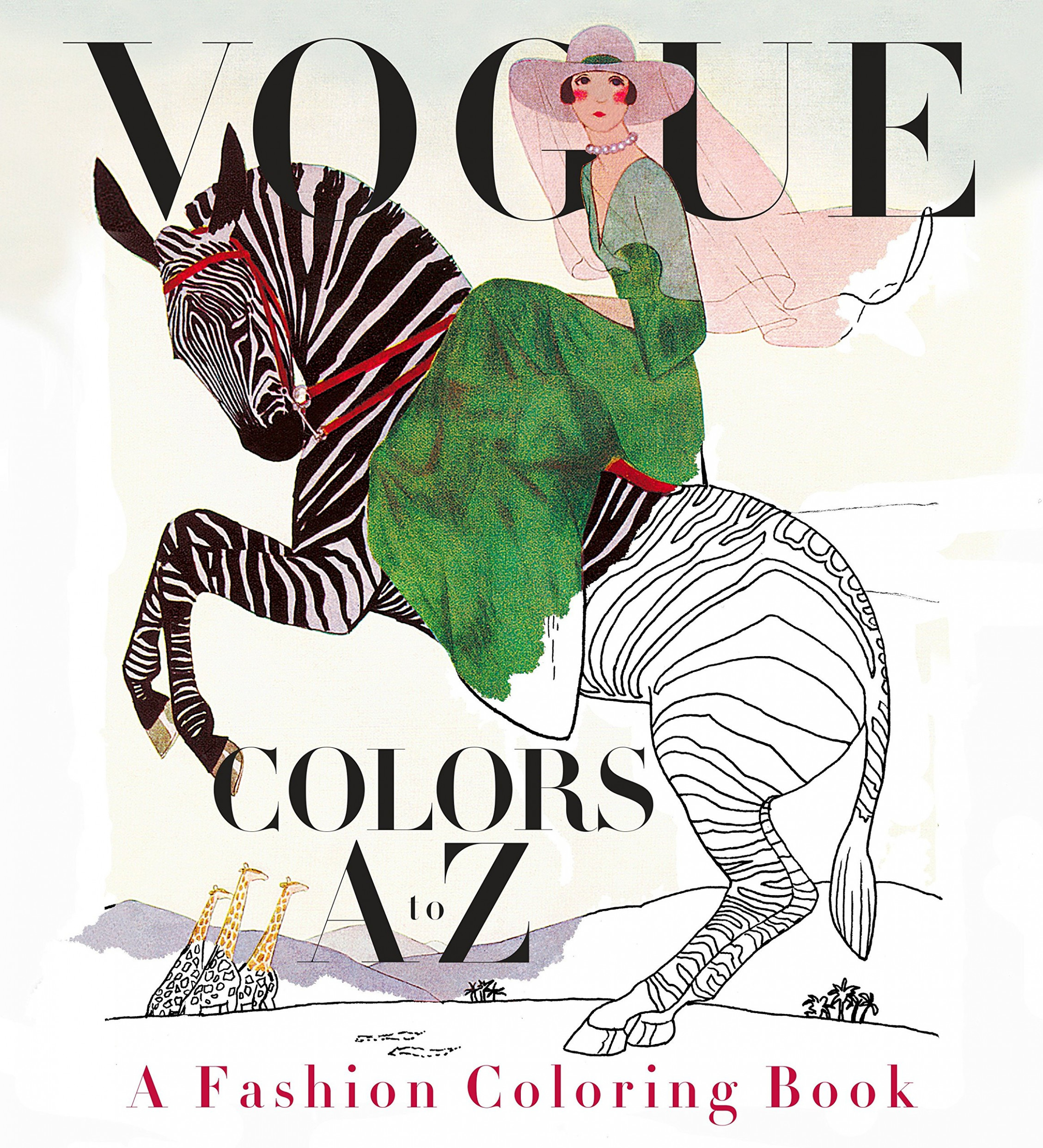 Amazon.com: Vogue Colors A to Z: A Fashion Coloring Book ..