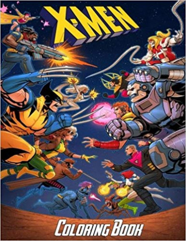 Amazon.com: X-Men Coloring Book: Coloring Book for Kids and Adults ..