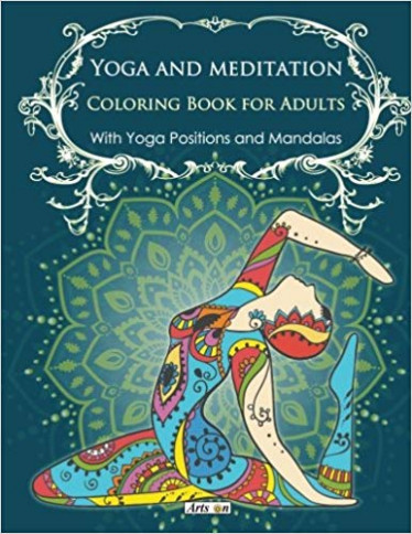 Amazon.com: Yoga and meditation coloring book for adults: With Yoga ...