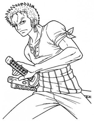 Anime Manga One Piece Coloring Pages Printable | Online Coloring ..