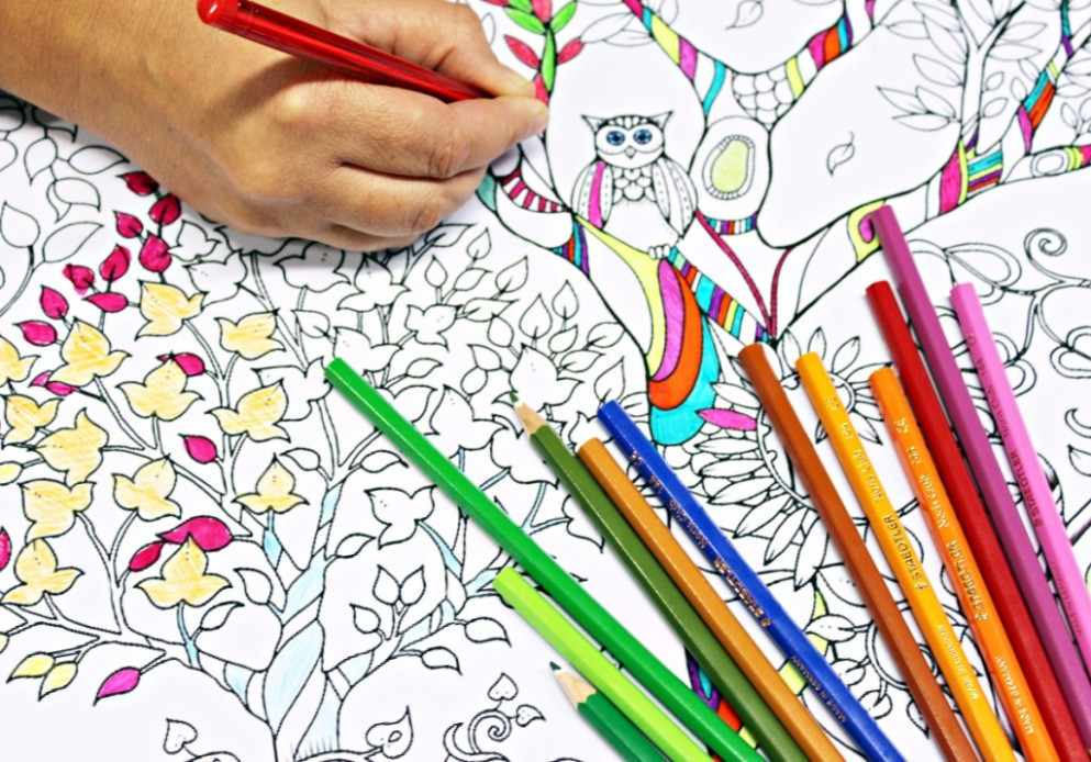 Anti-Stress Coloring Books are Egypt's New Answer to Increasing ...