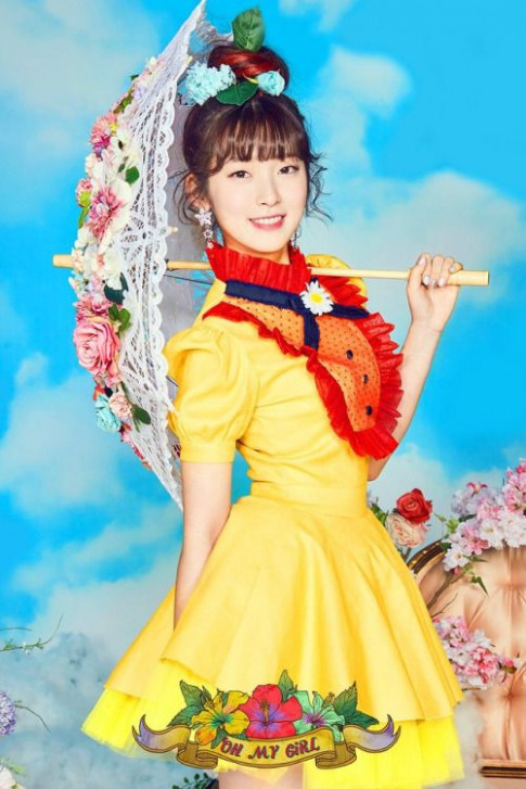 Arin (Oh My Girl) – Coloring Book Concept Pic | 19 in 20198 ..