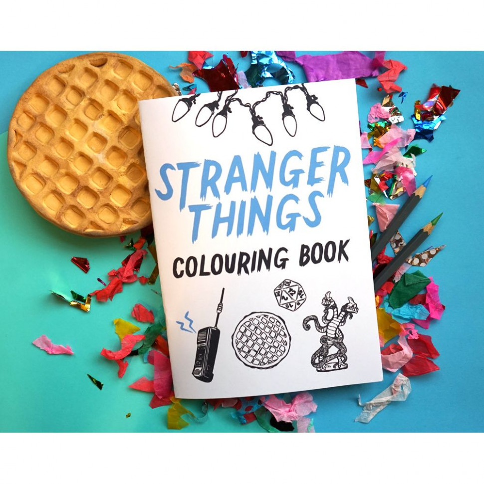Art :: BOOKS :: Stranger Things Colouring Book