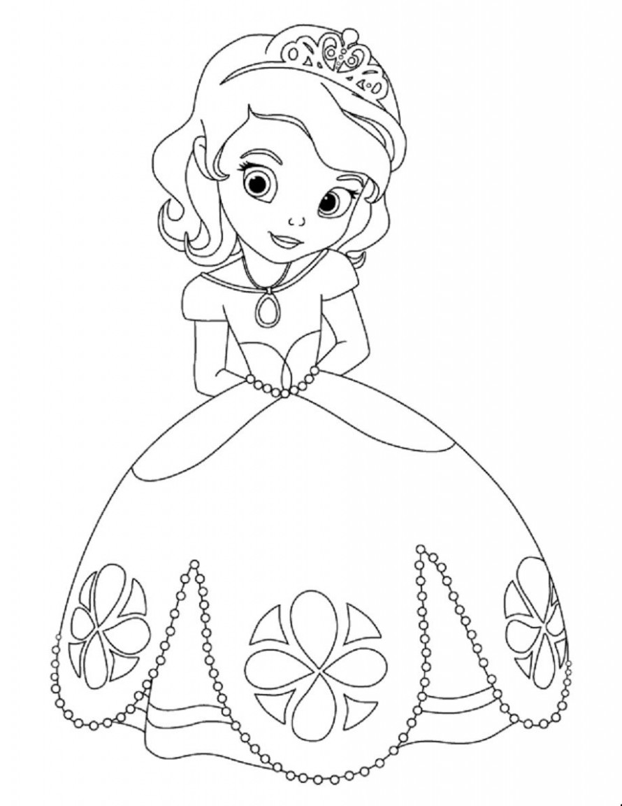 Baby Disney Princess Coloring Pages | … Coloring Page Wallpaper ..