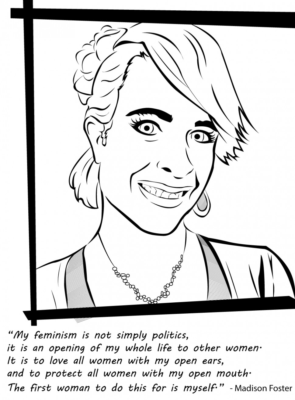 "Badass Feminist Coloring Book"" By Feminist Writer Ijeoma Oluo Should .."