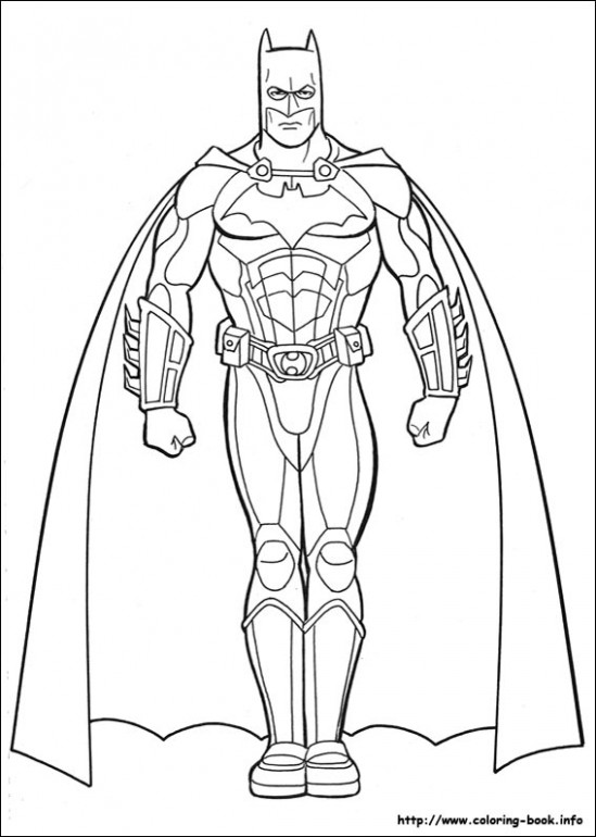 Batman coloring pages on Coloring-Book.info