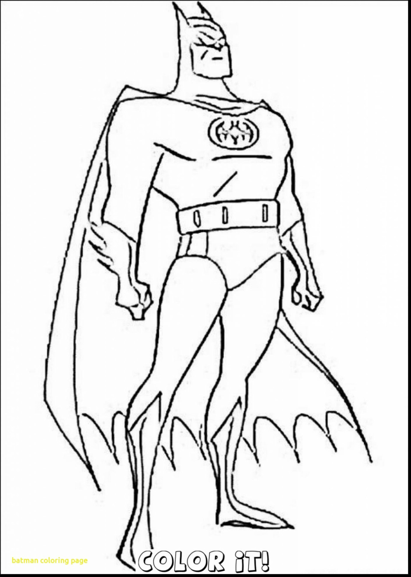 Batman Coloring Pages Printable to Print | Free Coloring Books