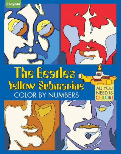 Beatles Coloring Book: Crayola The Beatles Yellow Submarine Color by ..