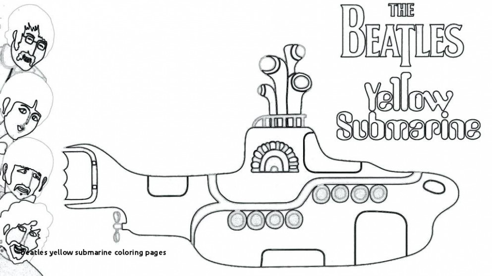 Beatles Yellow Submarine Coloring Pages Coloring Coloring Pages ..