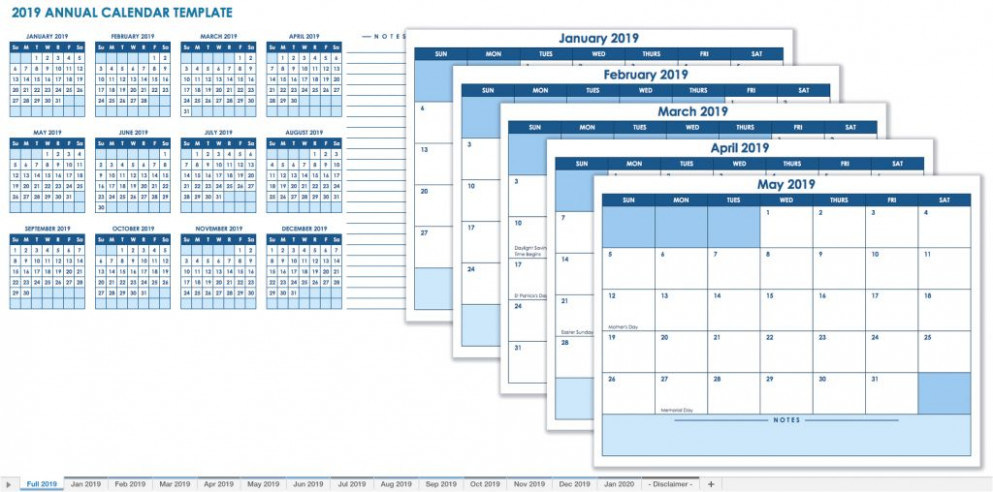 Beautiful 15 Sample Calendar Excel Template 15
