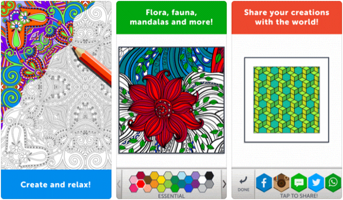 Best Coloring Apps for iPhone and iPad: Awesome Boredom Killer – app coloring book