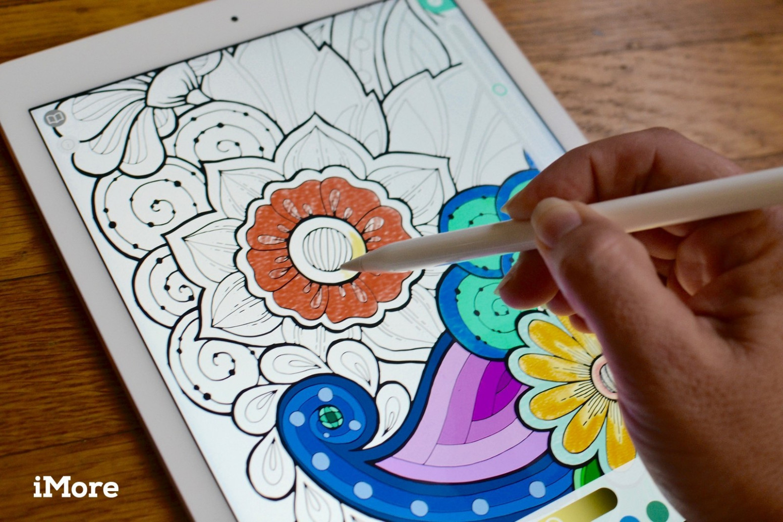 Best coloring books for adults on the iPad | iMore – where to make coloring book