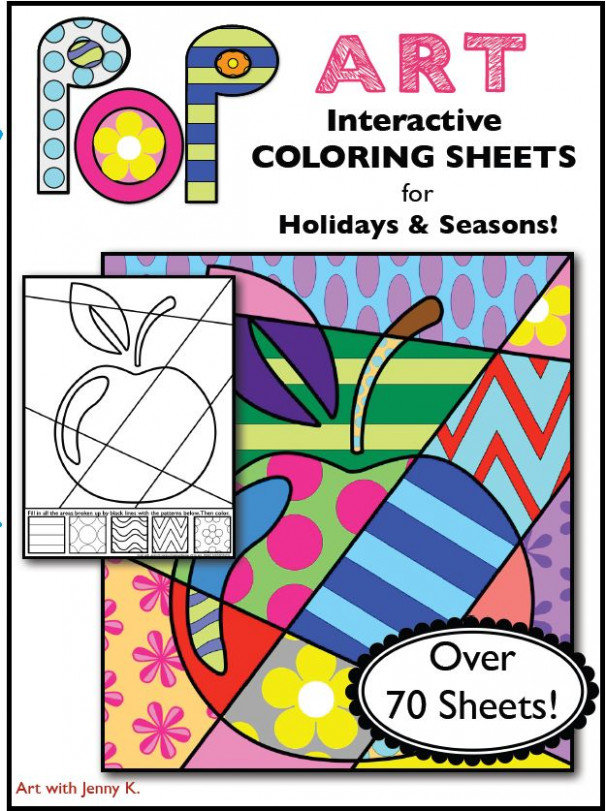 BIG Collection of Interactive Coloring Pages for All Occasions ...