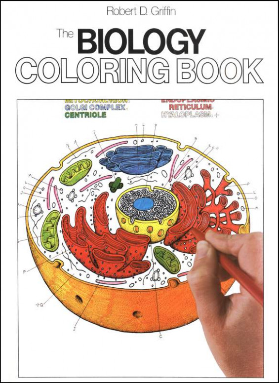 Biology Coloring Book, HarperCollins, 17 - Rainbow Resource