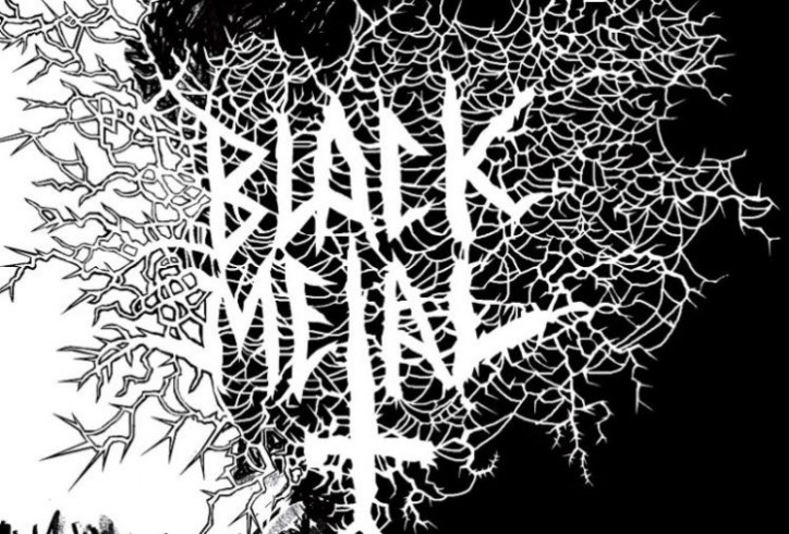 Black Metal: A Coloring Book' To Be Released This Month | Metal Addicts – black metal coloring book
