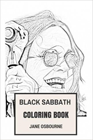 Black Sabbath Coloring Book: Macabre and Horror Metal Godfathers and ...