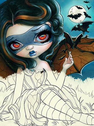 Blue Angel Publishing - Jasmine Becket-Griffith Coloring Book
