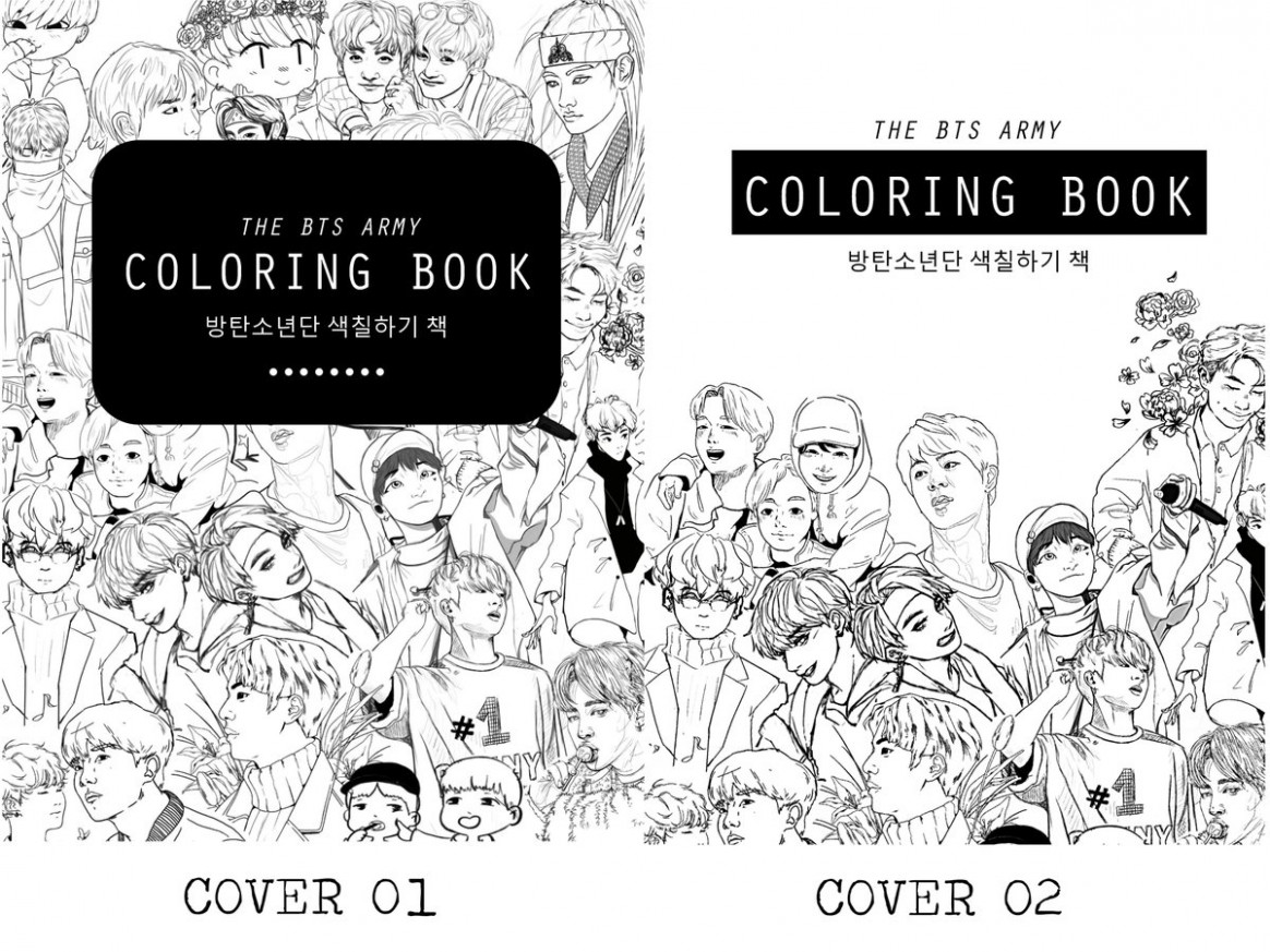 "BTS Coloring Book on Twitter: ""Thank you! ;w;… "" – bts coloring book"