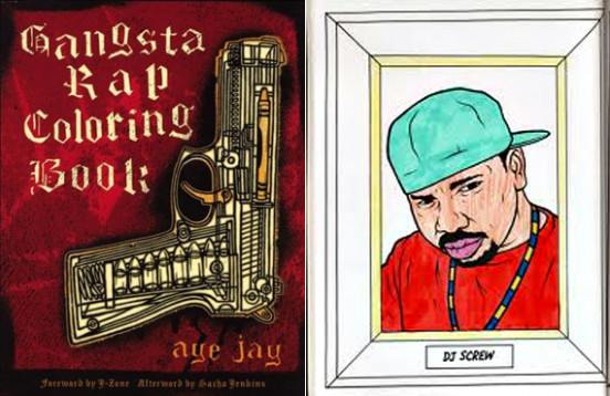 Bust Out The Rhymes And Crayons With The Gangsta Rap Coloring Book – gangsta rap coloring book