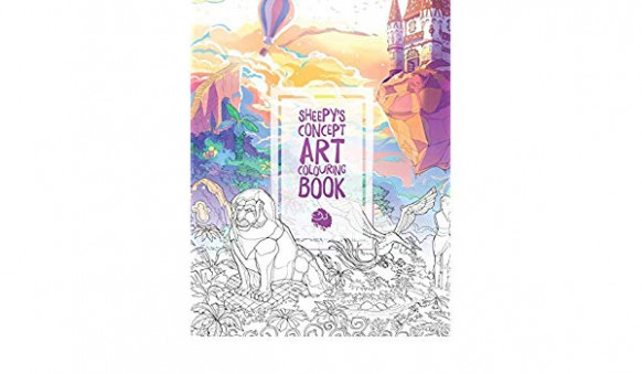 Buy MrSuicideSheep's Concept Art Colouring Book Book Online at Low ..
