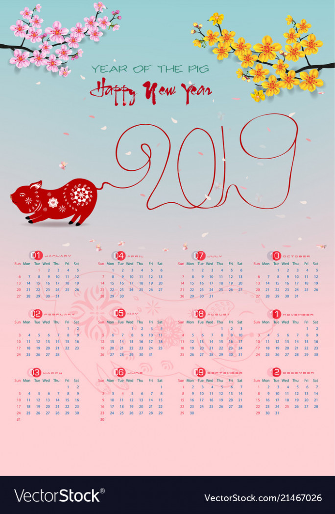 Calendar 15 and happy new year background Vector Image
