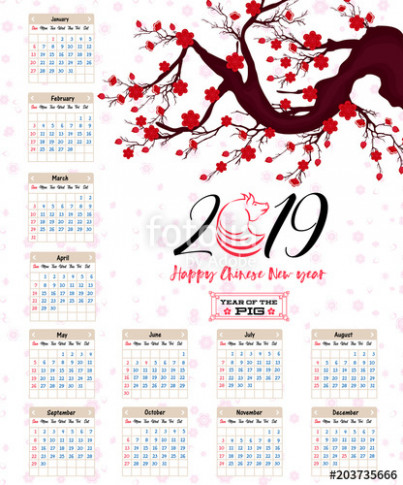 Calendar 17 Chinese calendar for happy New Year 17 year of the ...