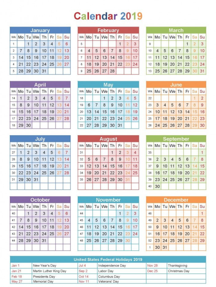 calendar for year 18 hong kong | Printable Coloring Page for Kids - Year 2019 Calendar Hong Kong