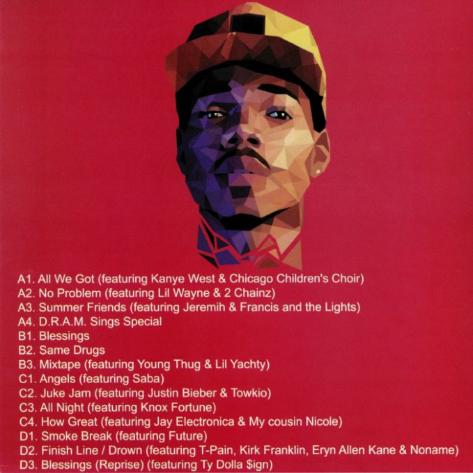 CHANCE THE RAPPER Coloring Book vinyl at Juno Records