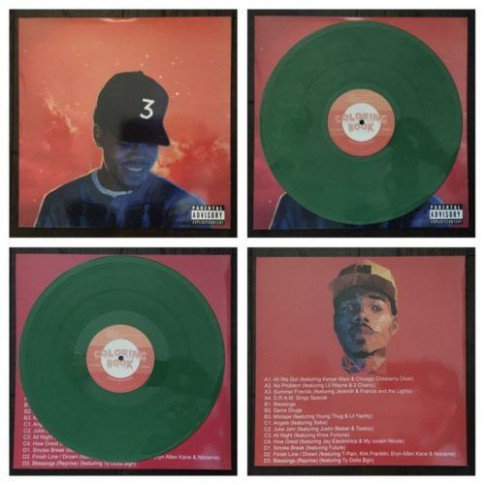 Chance The Rapper – Coloring Book [Vinyl] – The best Rap Vinyls – chance the rapper coloring book vinyl