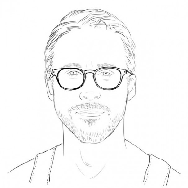 Check Out a Ryan Gosling Coloring Book
