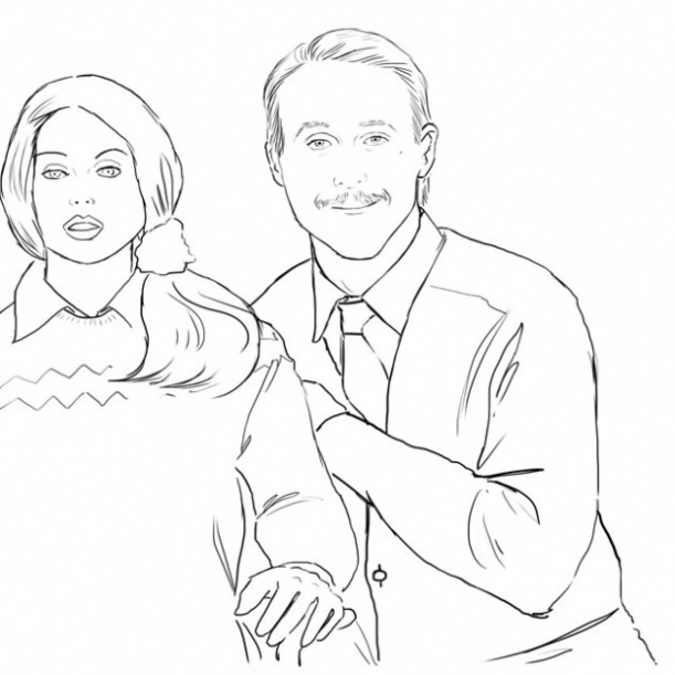 Check Out Colour Me Good, A Ryan Gosling Coloring Book :: Music ...