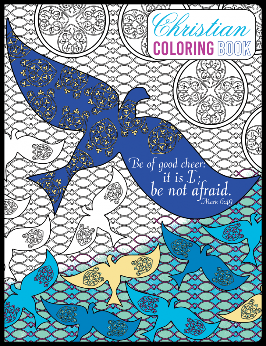 Christian Coloring Book – is coloring book a christian